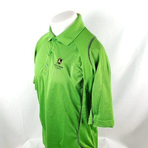 John Deere Classics Men Polo Golf Shirt Sz Large